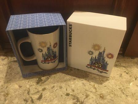 Starbucks City Mug Magic Kingdom 2016 Mug, 45th Anniversary