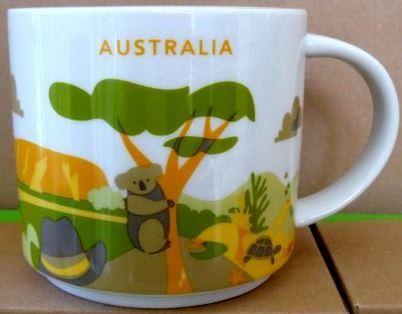 Starbucks City Mug Australia YAH