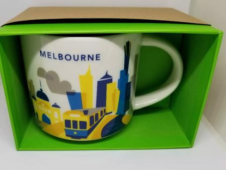 Starbucks City Mug Melbourne YAH