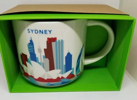 Starbucks City Mug Sydney YAH