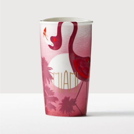 Starbucks City Mug 2016 Miami Double Wall Traveler