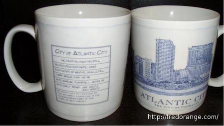 Starbucks City Mug Atlantic City