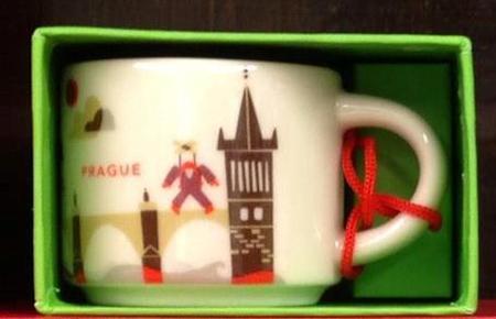 Starbucks City Mug Prague 2016 ornament