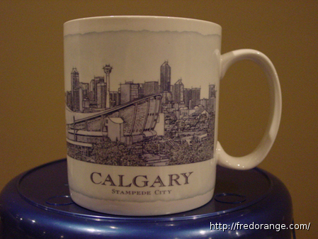 Starbucks City Mug Calgary - Stampede City