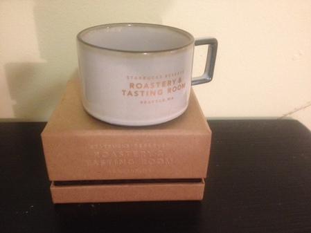 Starbucks City Mug 2016 White Roastery and Tasting Room 3 Oz. Mug