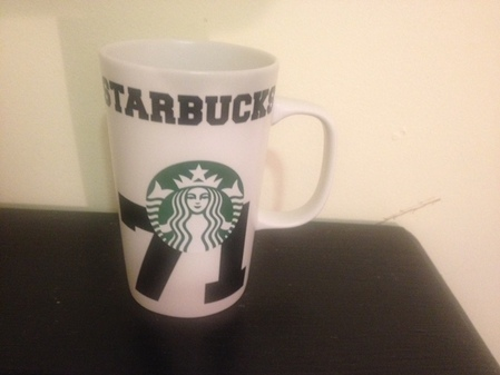 Starbucks City Mug 2016 71 Logo 12 oz mug