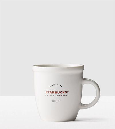 Starbucks City Mug 2016 Classic Demi Mug - White