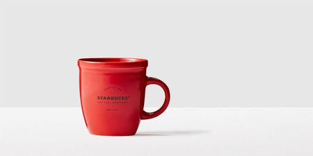 Starbucks City Mug 2016 Classic Demi Mug-Red