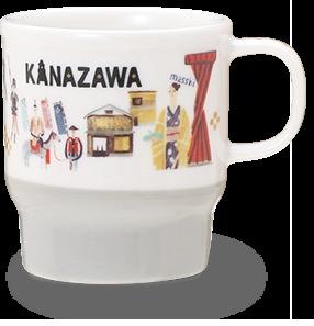 Starbucks City Mug Japan Geography Series Kanazawa