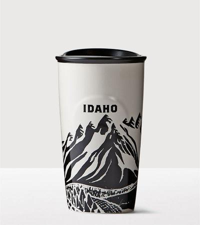 Starbucks City Mug 2016 Idaho Double Wall Traveler
