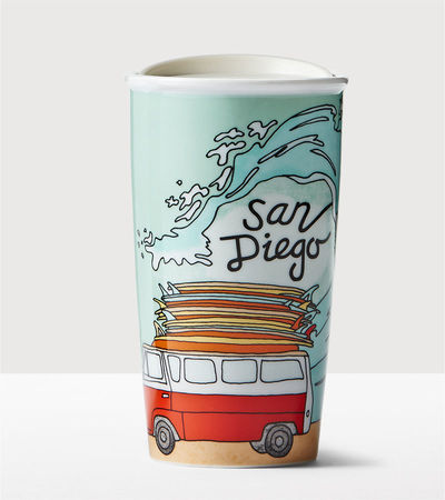 Starbucks City Mug 2016 San Diego Double Wall Traveler