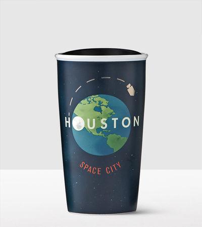 Starbucks City Mug 2016 Houston Double Wall Traveler