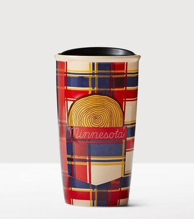 Starbucks City Mug 2016 Minnesota Double Wall Traveler
