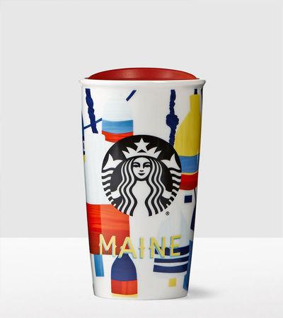 Starbucks City Mug 2016 Maine Double Wall Traveler