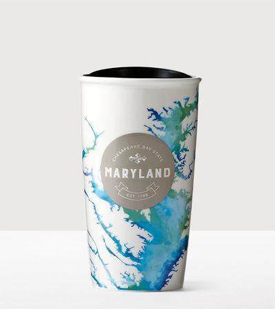 Starbucks City Mug 2016 has Maryland Double Wall Traveler