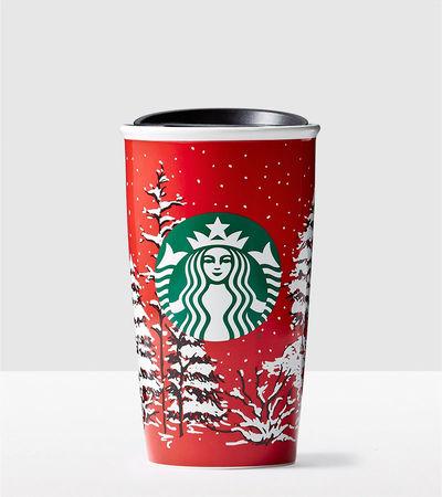 Starbucks City Mug 2016 Pine Trees