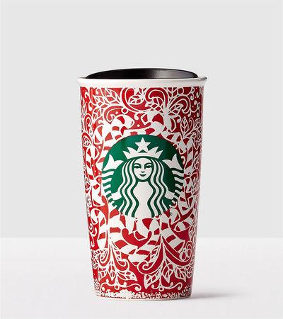 Starbucks City Mug 2016 Candy Canes