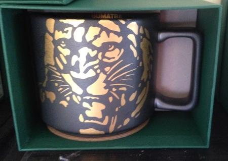 Starbucks City Mug 2016 Sumatra Stamp Mug