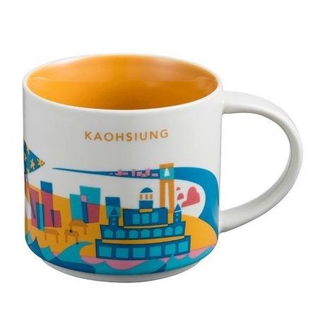 Starbucks City Mug Kaohsiung YAH