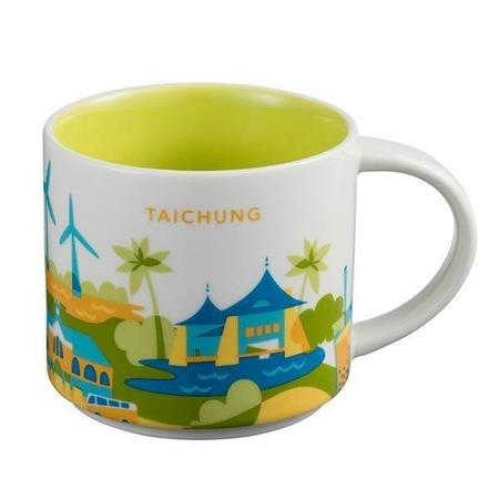 Starbucks City Mug Taichung YAH