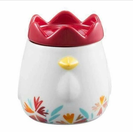 Starbucks City Mug 2017 Year of the Rooster Mug with Comb Lid