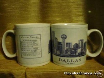 Starbucks City Mug Dallas - The Big D