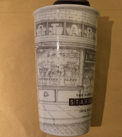 Starbucks City Mug 1912 Pike Place First Store Traveler
