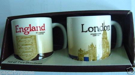 Starbucks City Mug England (Shield) - Global Icon Demitasse