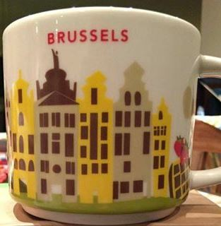 Starbucks City Mug Brussels YAH