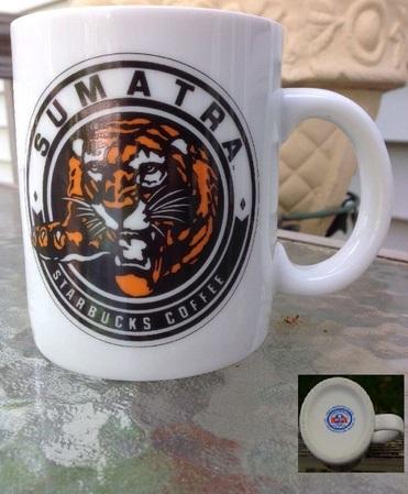 Starbucks City Mug Sumatra, early release