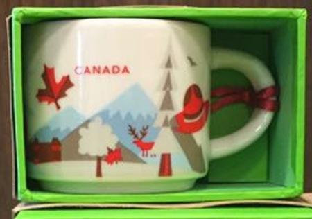 Starbucks City Mug Canada YAH ornament
