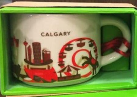 Starbucks City Mug Calgary YAH ornament