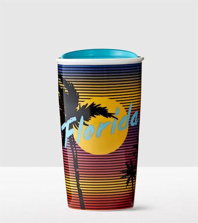 Starbucks City Mug 2016 Florida Double Wall Traveller