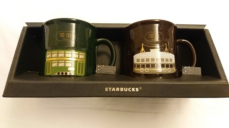 Starbucks City Mug Hong Kong - Tram
