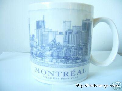 Starbucks City Mug Montreal