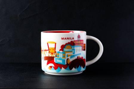 Starbucks City Mug Manila YAH