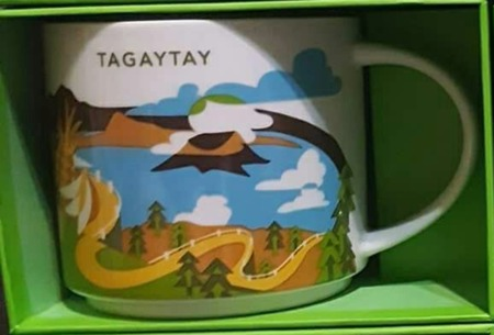 Starbucks City Mug Tagaytay YAH