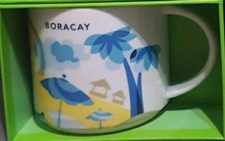 Starbucks City Mug You Are Here Boracay