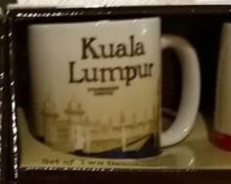 Starbucks City Mug Kuala Lumpur Demitasse