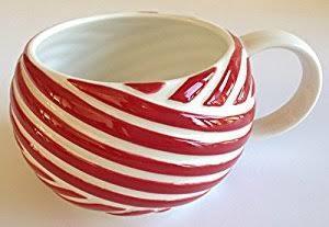 Starbucks City Mug Candy Cane Twist Mug