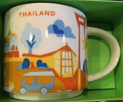 Starbucks City Mug Thailand YAH