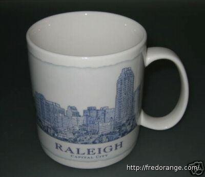 Starbucks City Mug Raleigh