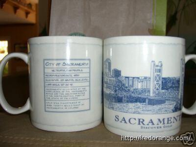 Starbucks City Mug Sacramento