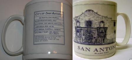 Starbucks City Mug San Antonio - Alamo City
