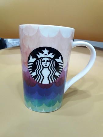 Starbucks City Mug 2016 starbucks black syren logo and water color hand painting #2