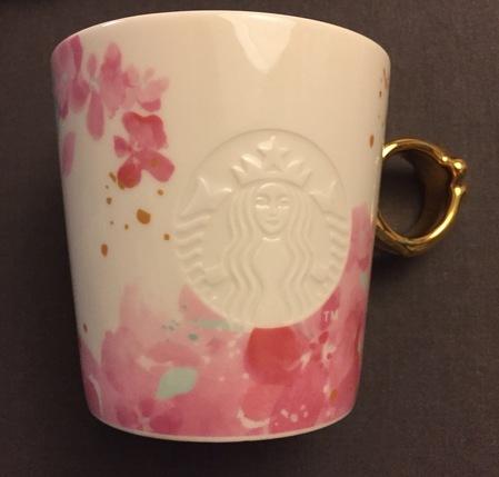 Starbucks City Mug 2017 Spring Blossom Siren Mug