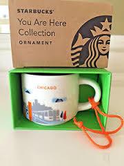 Starbucks City Mug Chicago YAH Ornament