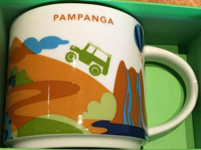 Starbucks City Mug You Are Here in Pampanga