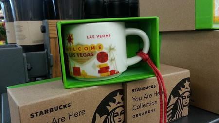 Starbucks City Mug You Are Here in Las Vegas Ornament