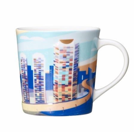 Starbucks City Mug Roppongi Hills 14th Anniversary